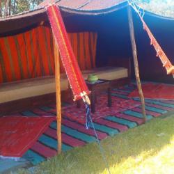 Notre tente berbère