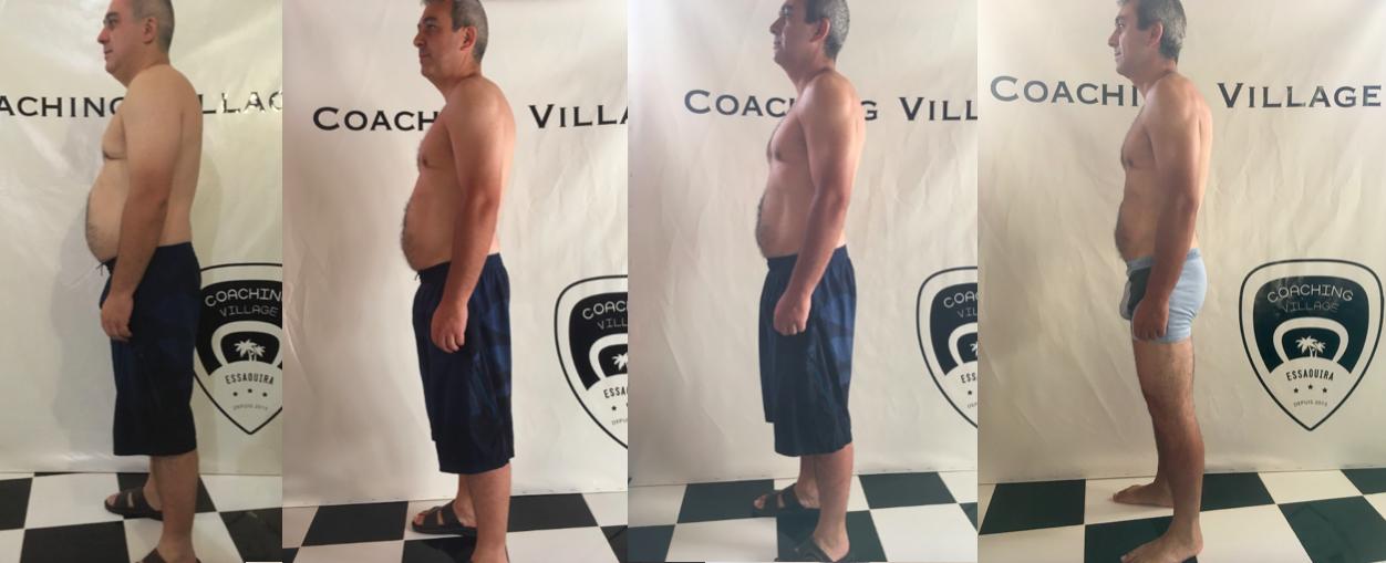 Perte de poids Armand (coté) - Coaching Village