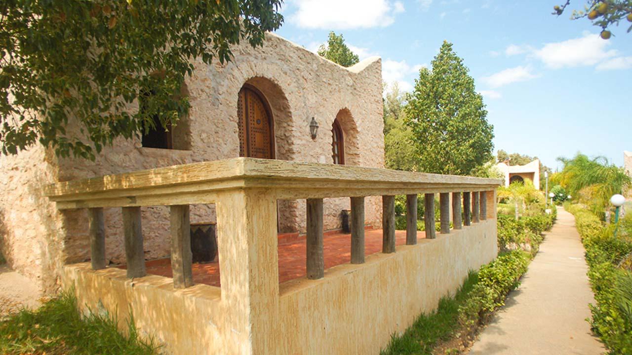 Bungalow avec terrasse