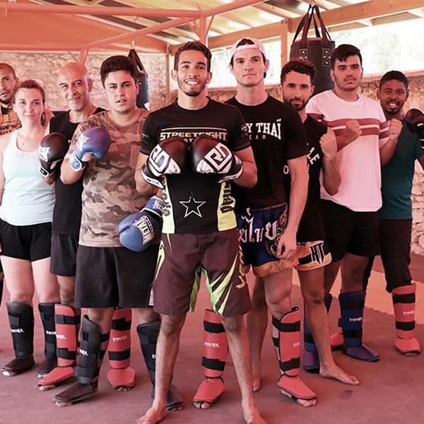 Camp de boxe thai Thailande