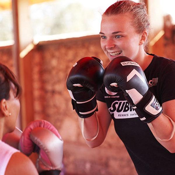 Cours de boxe pour femmes