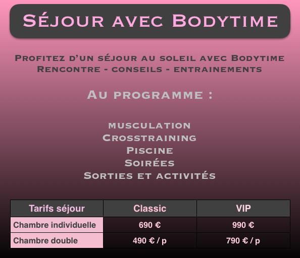 Vacances Bodytime