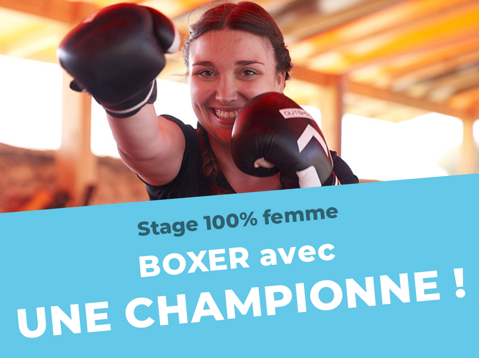Stage boxe femme