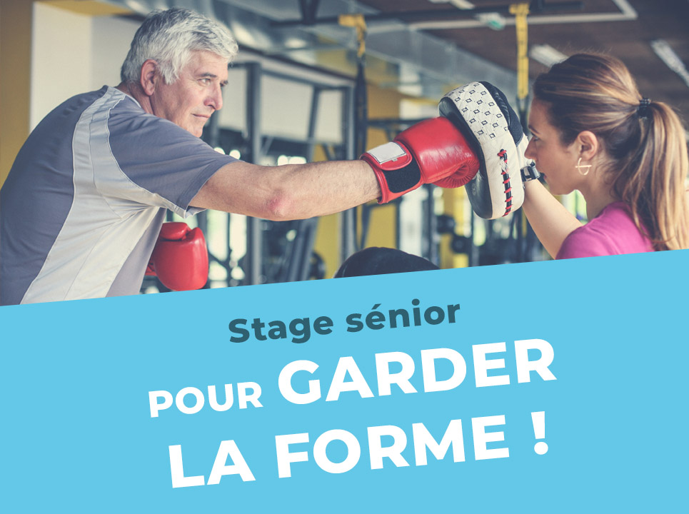 Stage fitness pour sénior