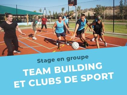 Team building clubs de sport