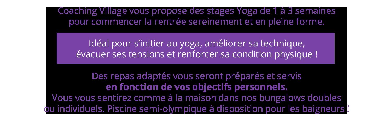 Séjour Yoga Maroc